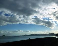 風のつよい午後