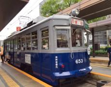 この夏、昭和17年製造の電車くん「653号」が走った!